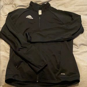Adidas full zip warm up jacket
